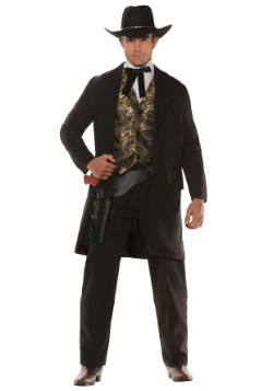 Men's Plus Size The Gambler Costume