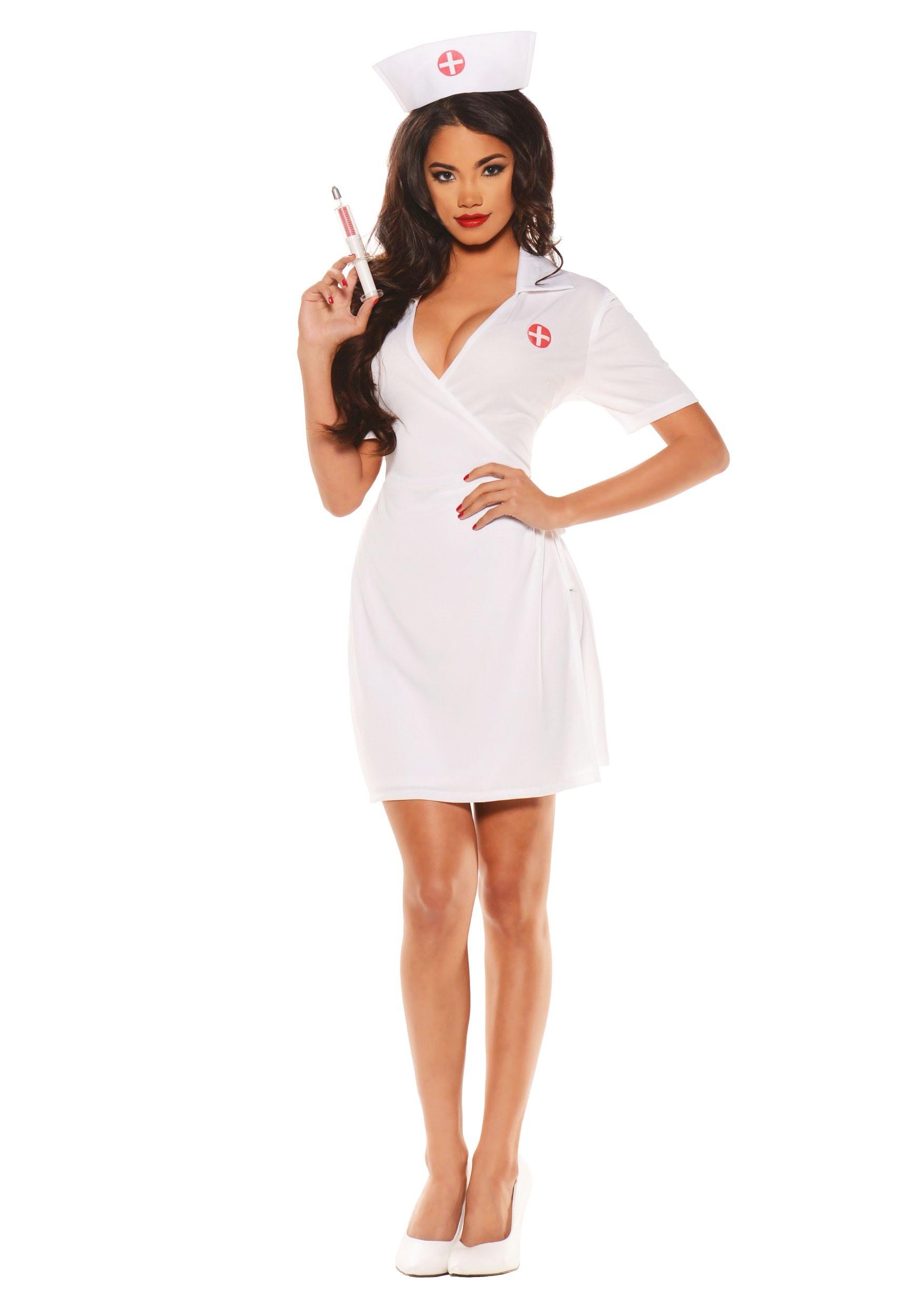 Women S Plus Size Doctor S Orders Nurse Costume 2x
