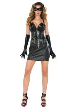 Women's Deluxe Catwoman Corset Costume