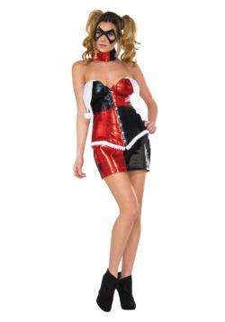 Women's Deluxe Harley Quinn Corset Costume
