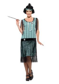 Women's 1920s Mint Coco Flapper Costume
