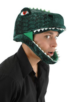 Plush T-Rex Hat