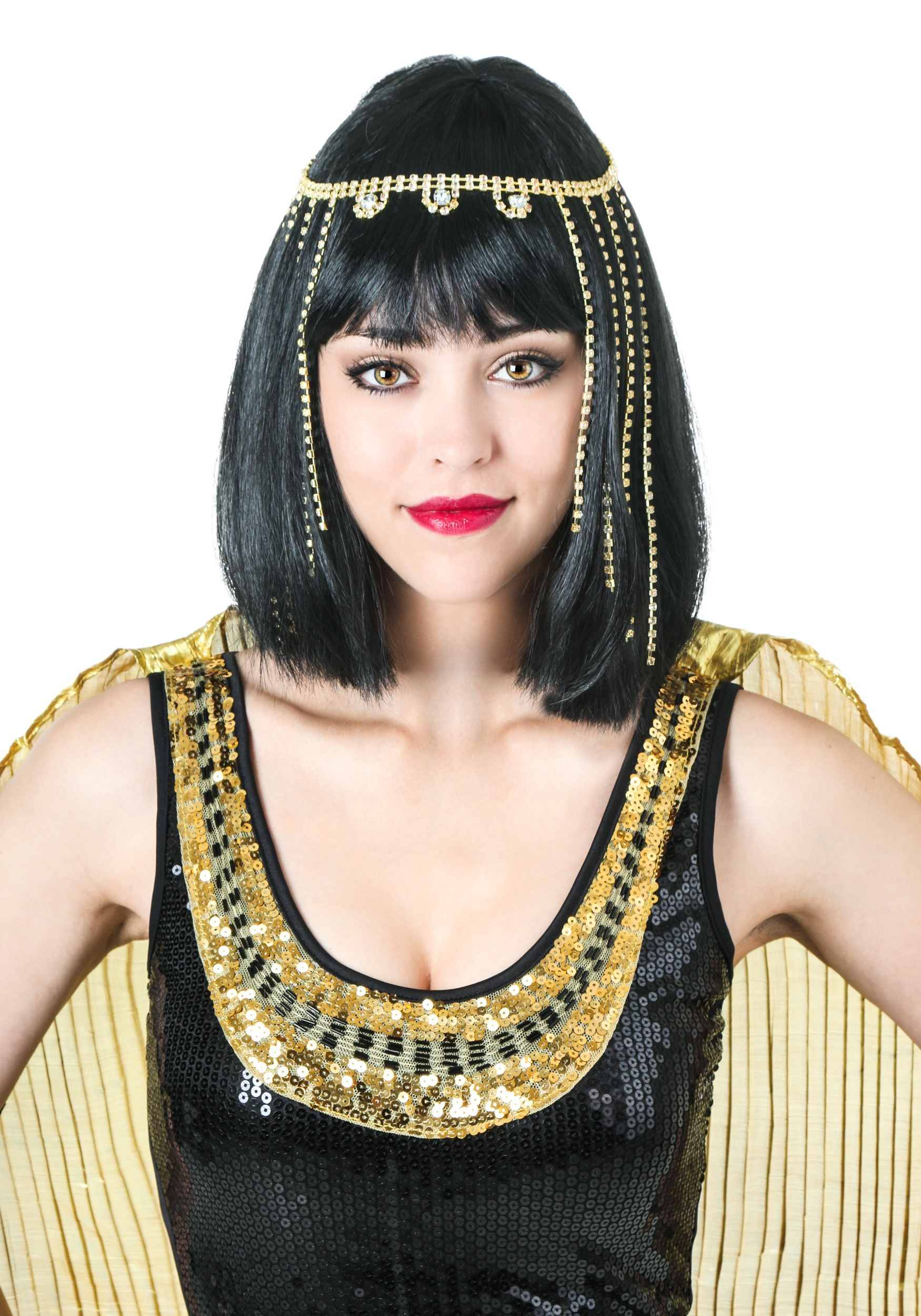 INOpets.com Anything for Pets Parents & Their Pets Deluxe Cleopatra Wig