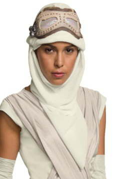 Adult Star Wars Ep. 7 Rey Eye Mask w/ Hood