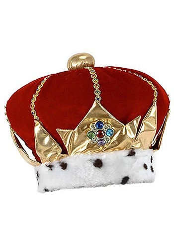 Red Royal King Hat