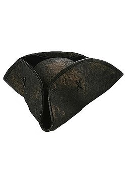 Black Caribbean Pirate Hat