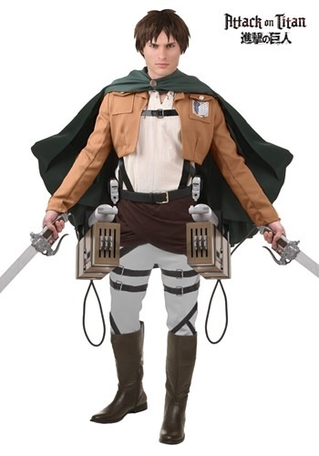 Deluxe Attack on Titan Eren Jaeger Costume
