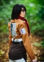 Deluxe Attack on Titan Mikasa Costume 4