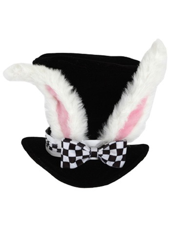 White Rabbit Adult Hat