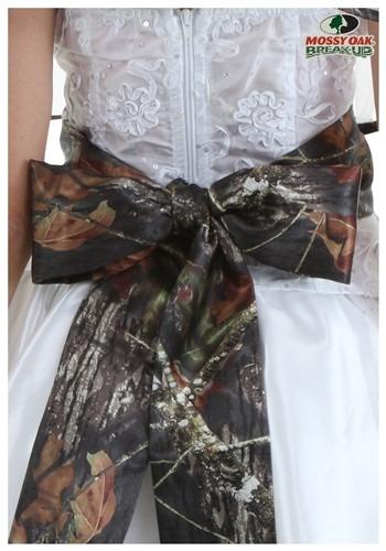 Plus Size Mossy Oak Bridal Sash
