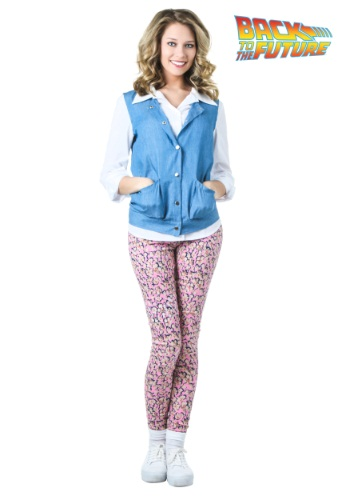 Plus Size Back to the Future Jennifer Parker Costume