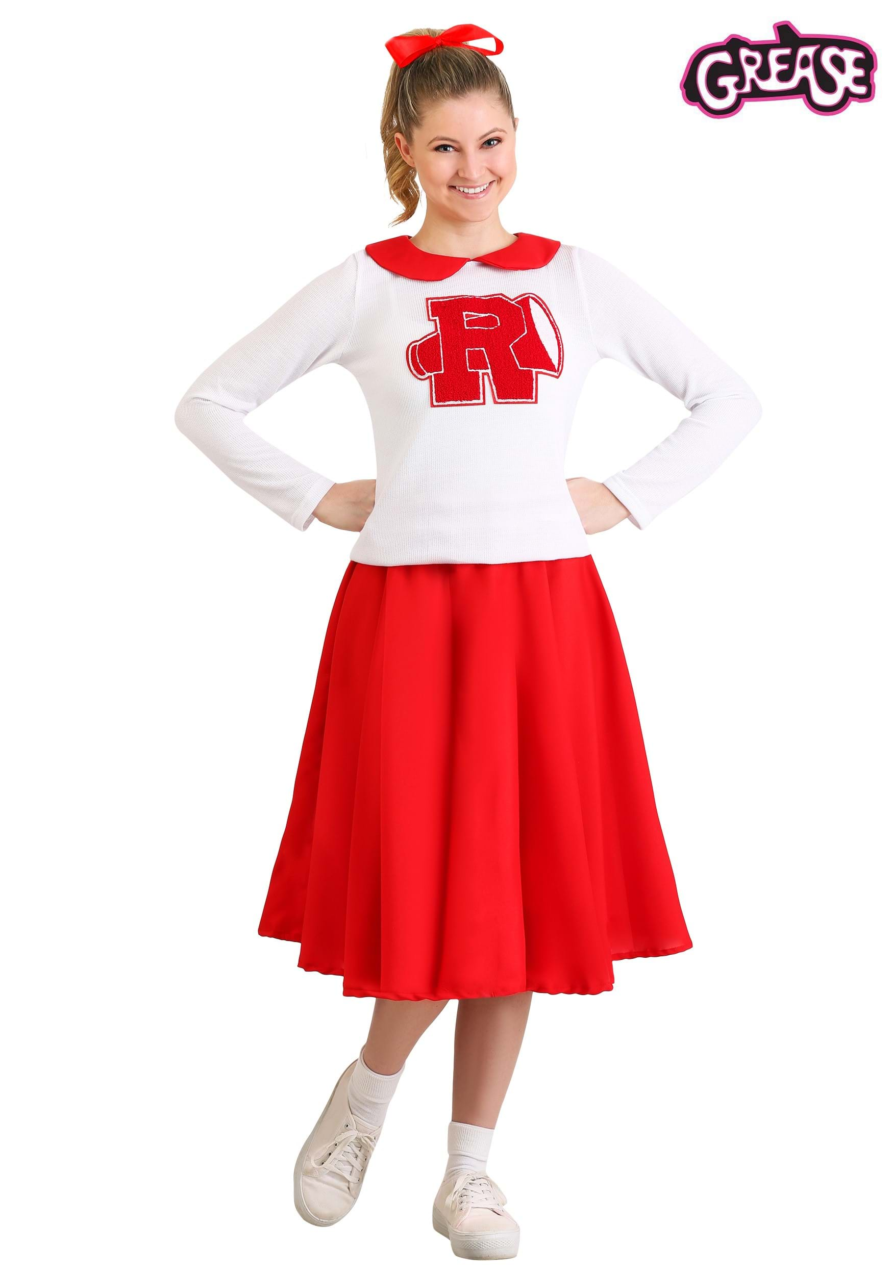sc 1 st  Halloween Costumes UK & Womenu0027s Grease Rydell High Cheerleader Costume