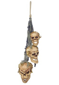 Hanging Rotten Skulls
