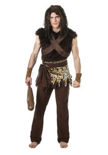 Plus Sized Caveman Costume