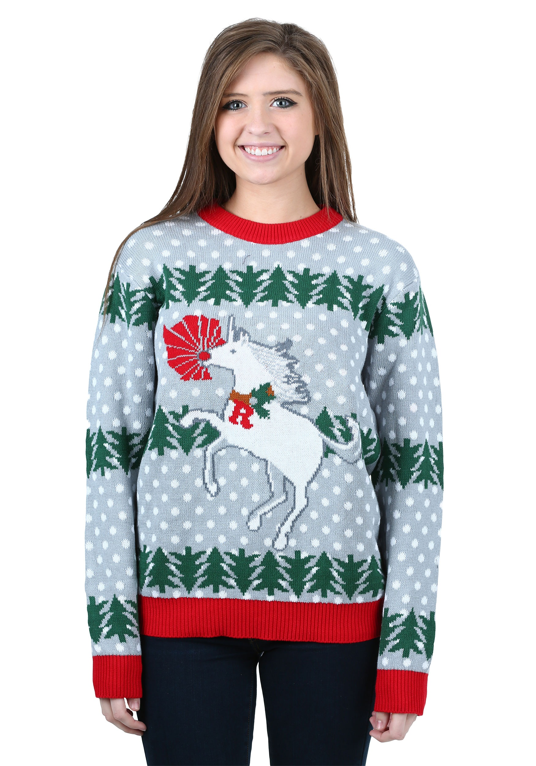 Ugly christmas sweater accessories