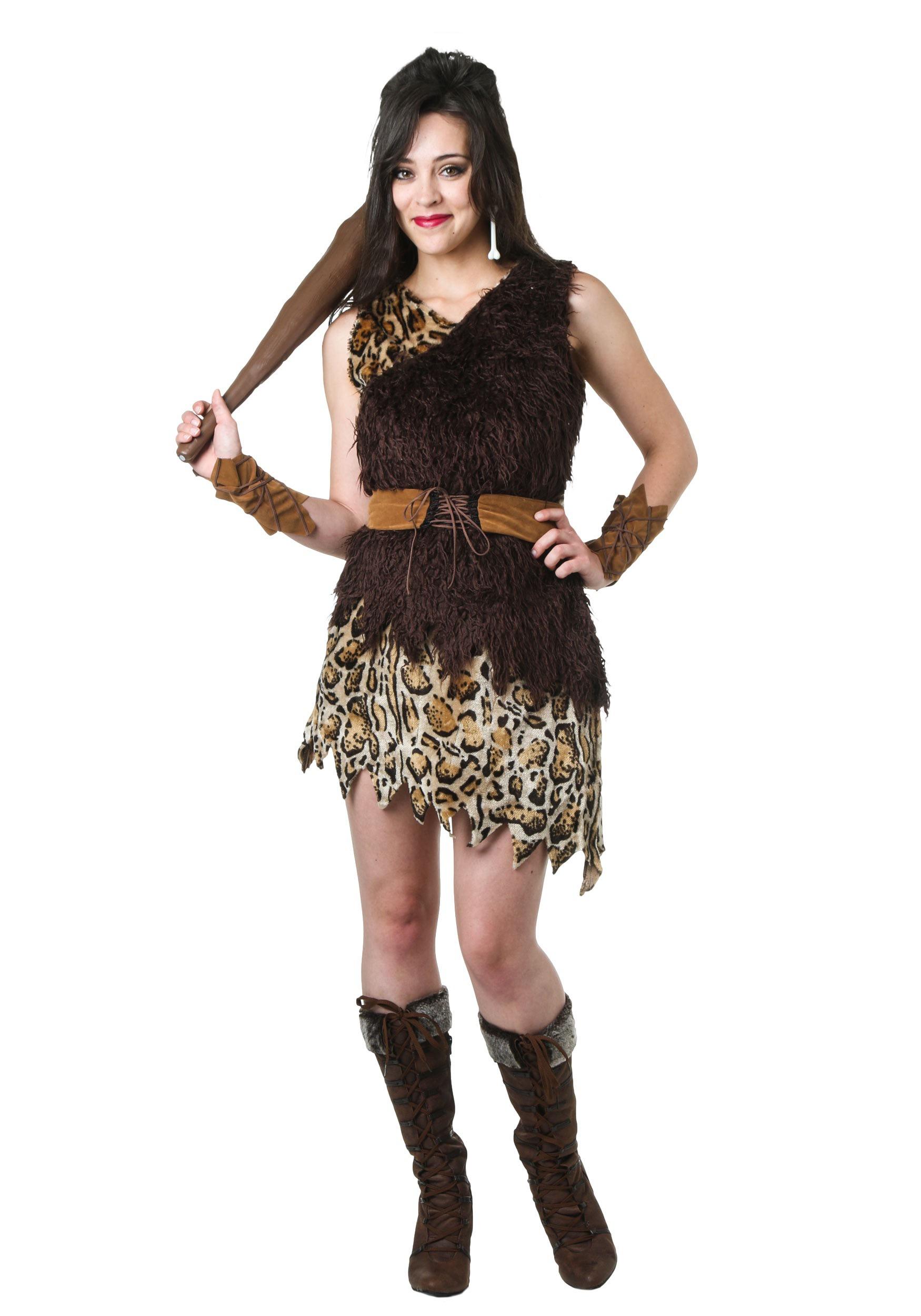 Caveman Dress Up Ideas : Cavewoman costume