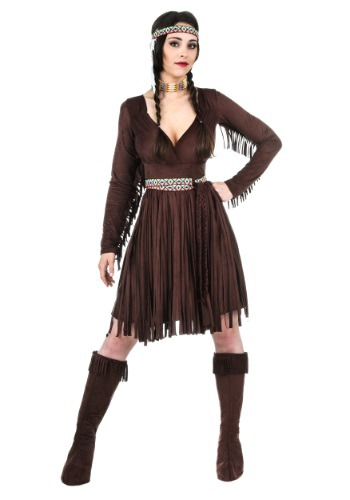 Plus Size Women's Native American Dress