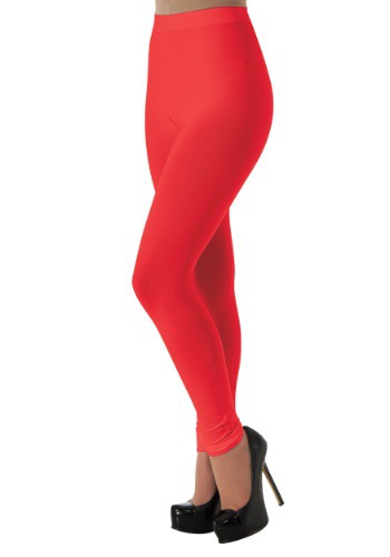 Women's Red Leggings