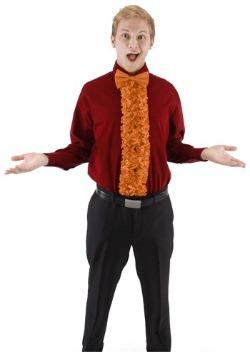 Orange Insta Tux Set
