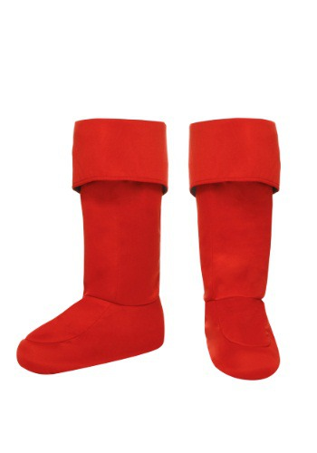 Adult Red Superhero Bootcovers