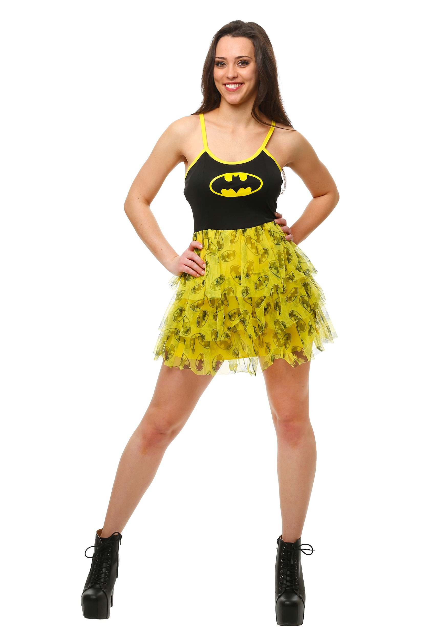 Batman_Mini_Skirt_Dress