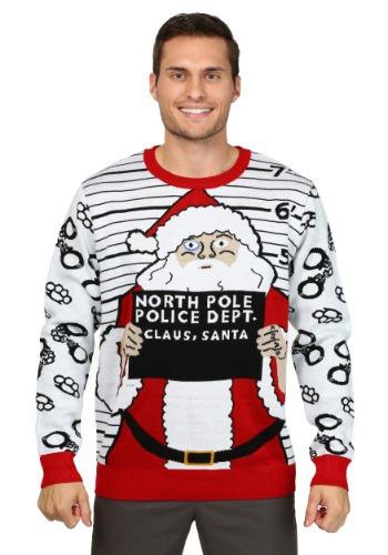Men's Free Santa Christmas Sweater