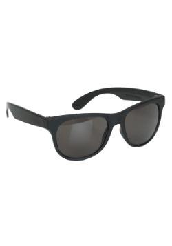 Deluxe Black Wayfarer Glasses