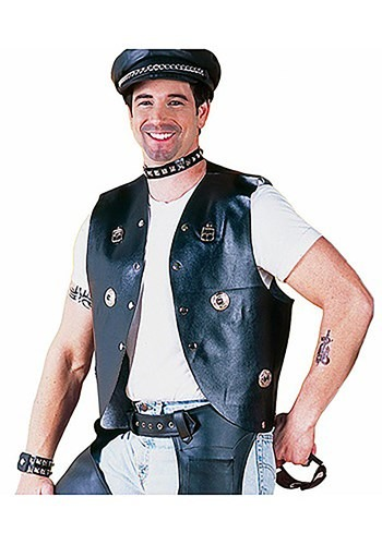 Biker Costume Vest