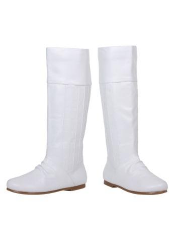 White Princess Boots