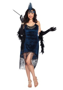 Womens Plus Size Downtown Doll Costume