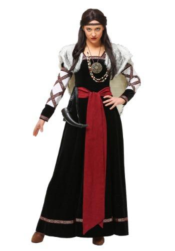 Women's Plus Size Dark Viking Dress