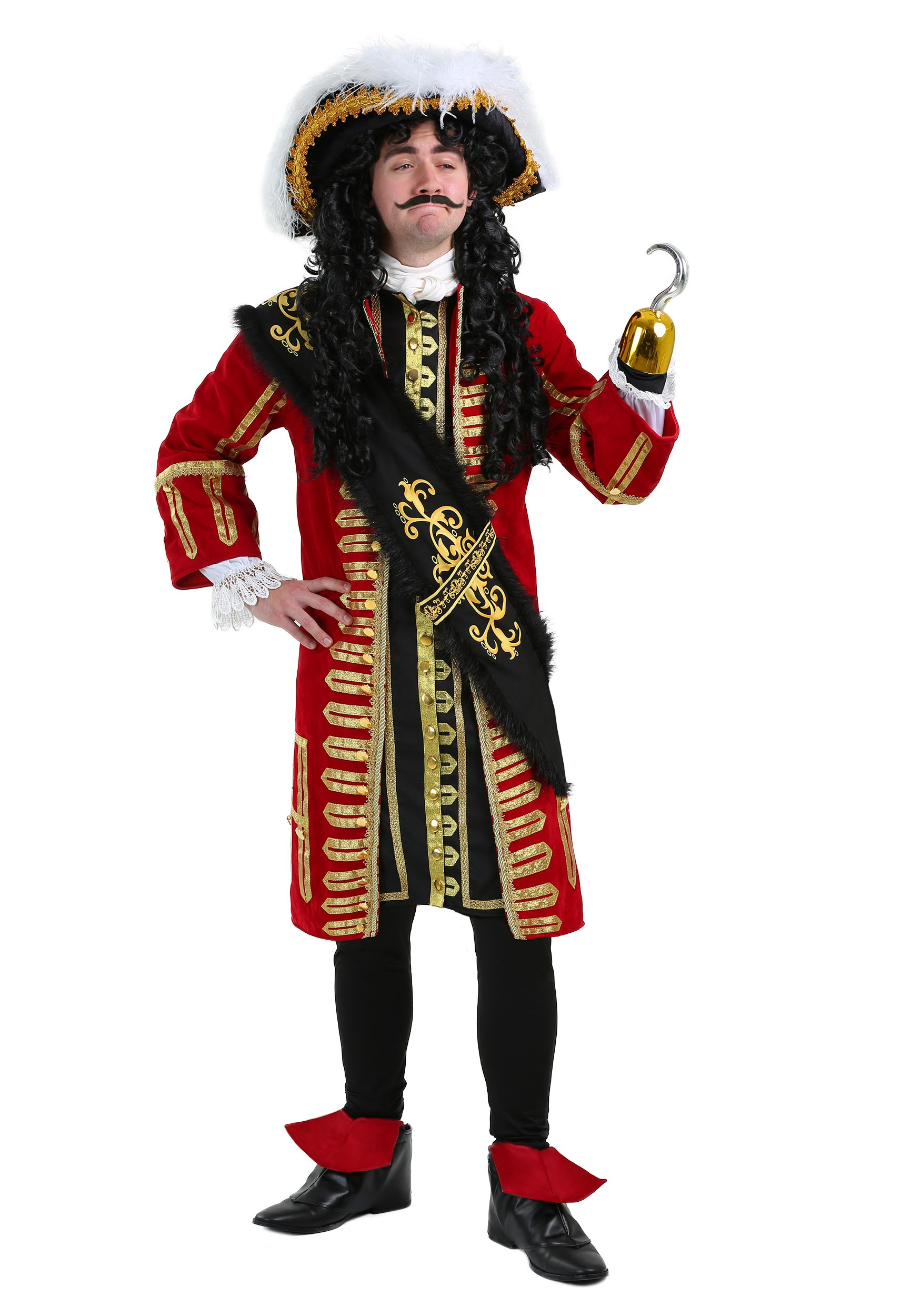 Brand New Disney Peter Pan Captain Hook Classic Pirate Infant Costume