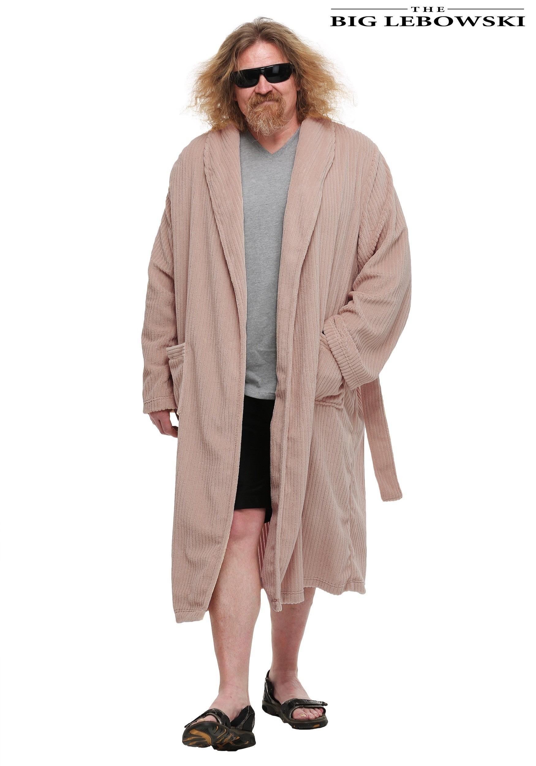 The Big Lebowski The Dude Bathrobe Costume