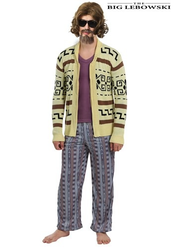 The Big Lebowski The Dude Mens Sweater Costume
