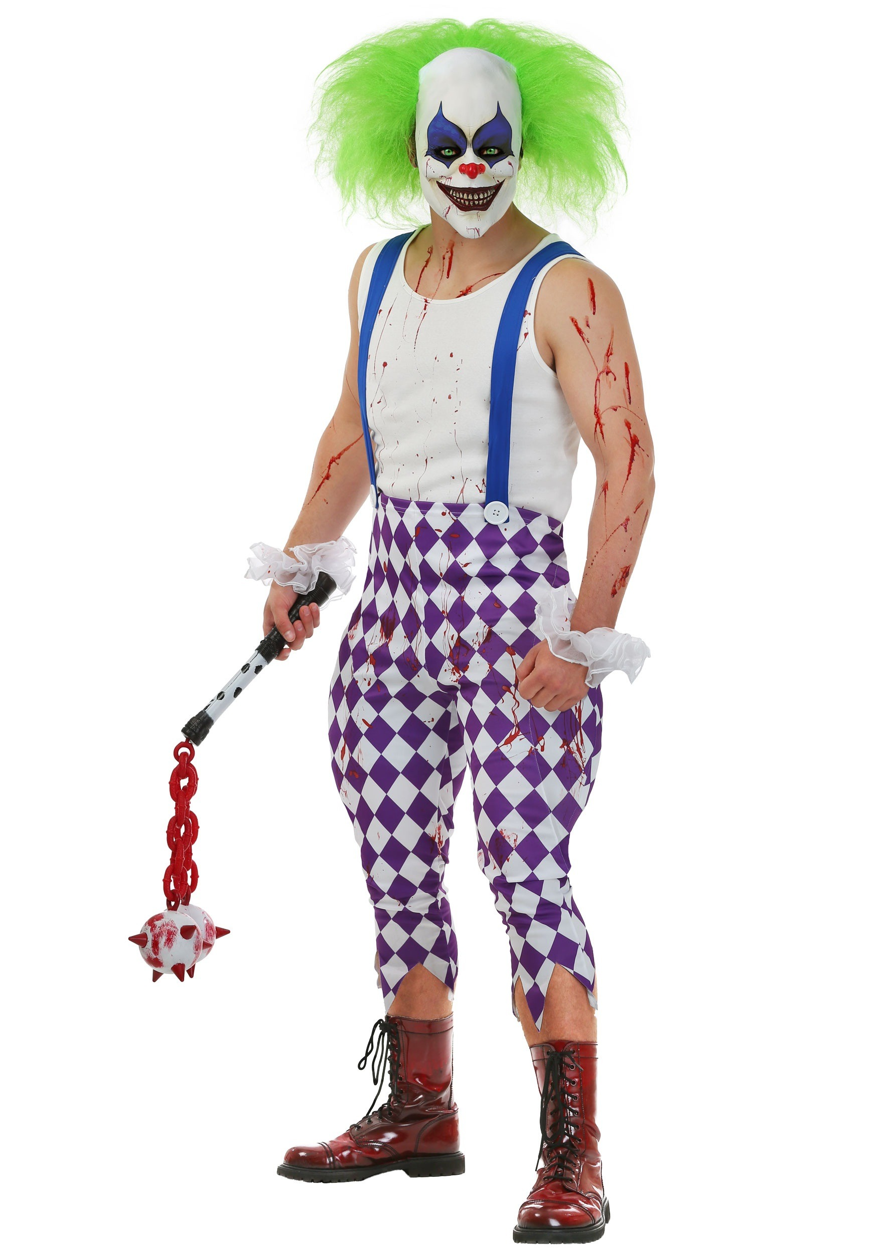 Nightmare Clown Costume  sc 1 st  Halloween Costumes UK & Menu0027s Nightmare Clown Costume