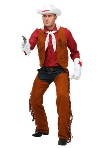 Adult Plus Size Rodeo Cowboy Costume