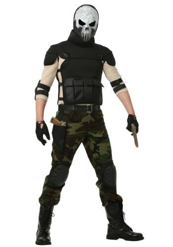 Skull Military Man Costume