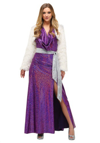 Women's Plus Size Disco Ball Diva Costume