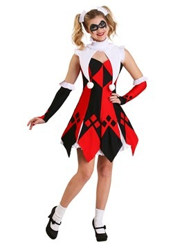 Jester costumes cute court jester womens costume solutioingenieria Image collections