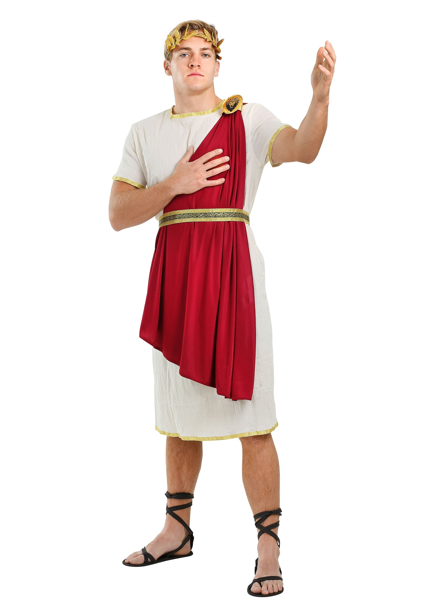 how to make an easy roman costume