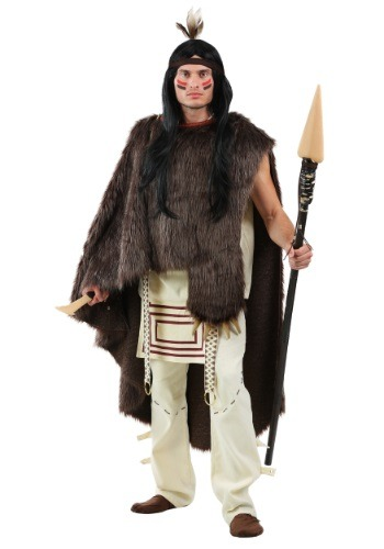 Deluxe Native Chief Mens Plus Size Costume