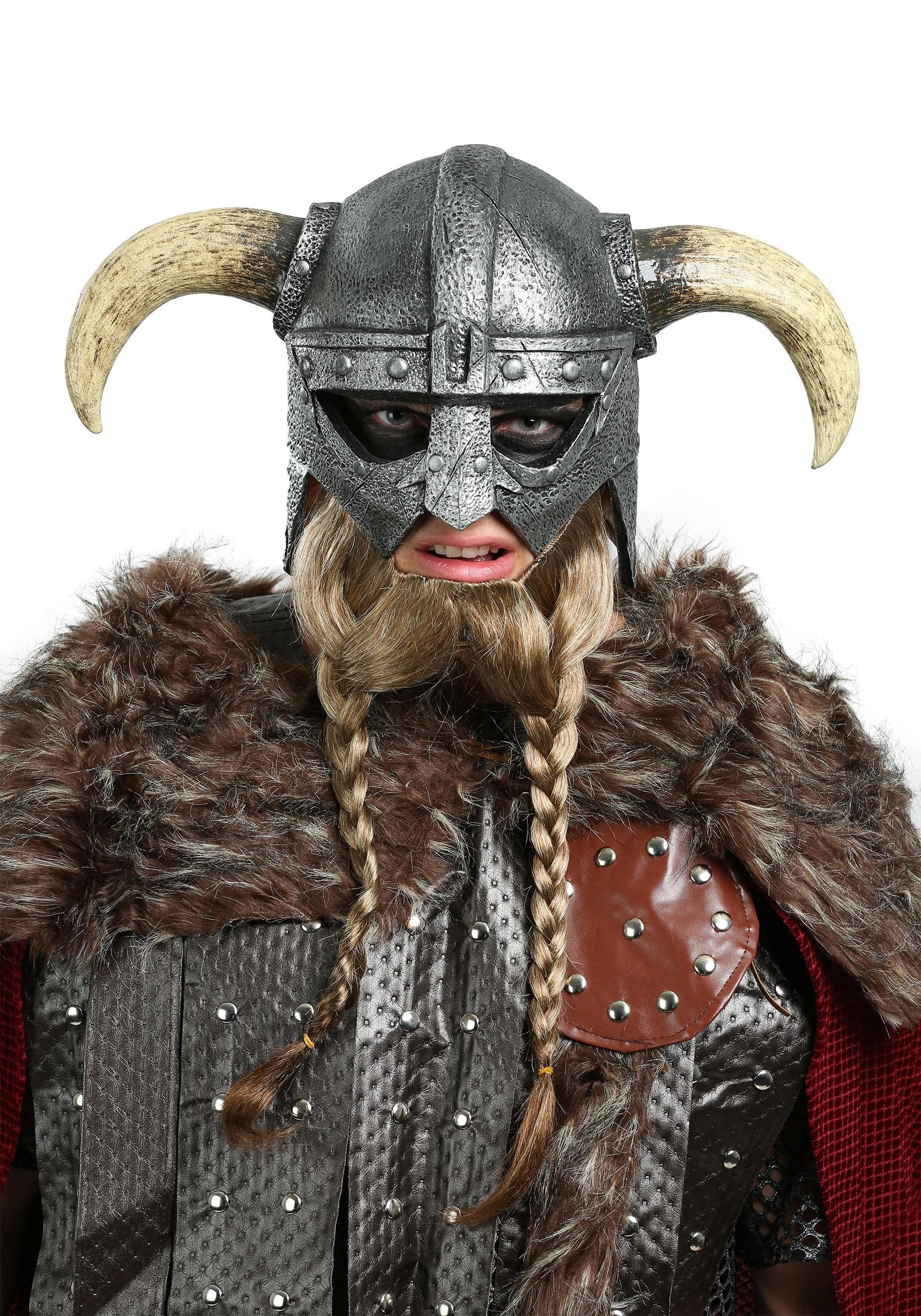 Adult Viking Warrior Mask