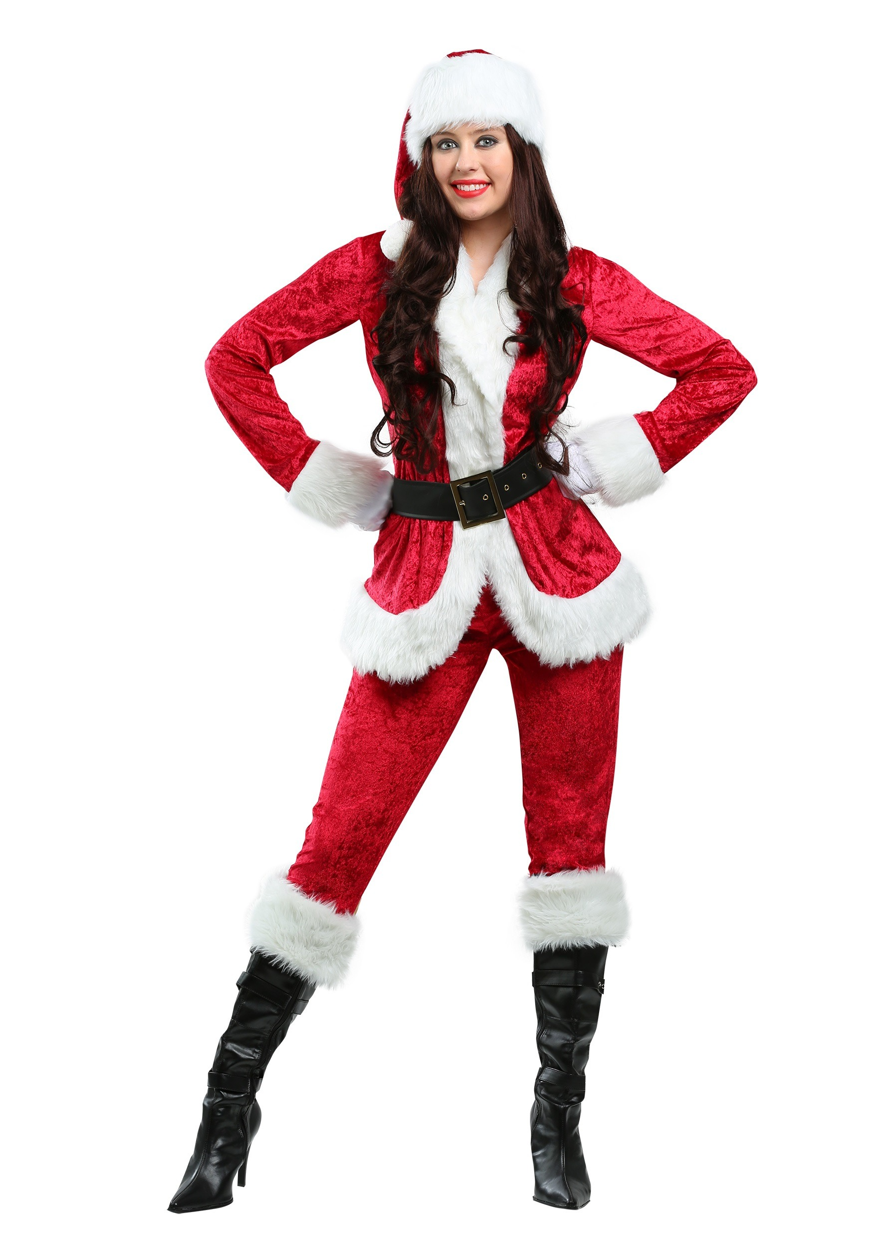 a56826238b8 Plus Size Sweet Santa Costume for Women