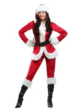 Plus Size Sweet Santa Costume
