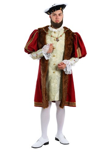 Adult King Henry Costume