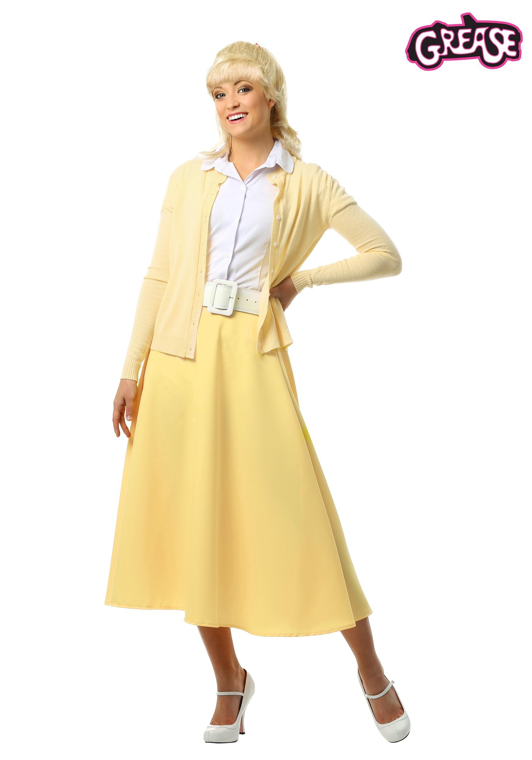 Adult 50\'s Costumes - Ladies 50s Costume