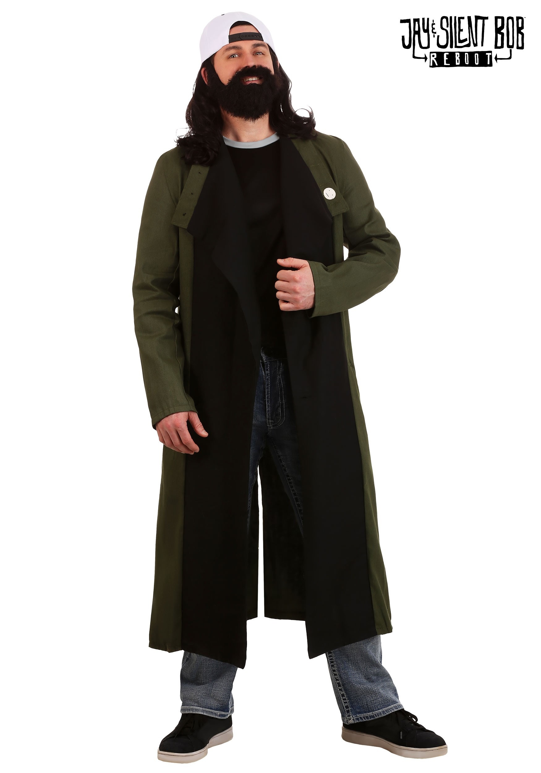 Silent Bob Mens Costume  sc 1 st  Halloween Costumes UK : funny witch costume  - Germanpascual.Com