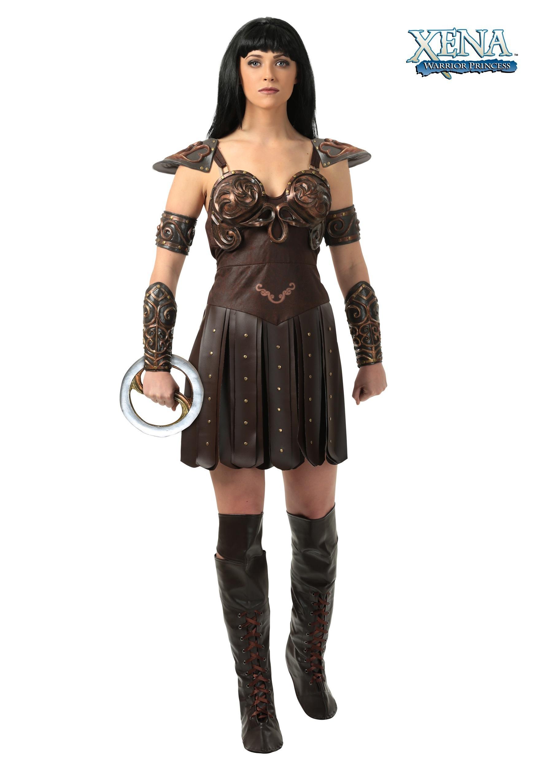 Womens Xena Costume  sc 1 st  Halloween Costumes UK & Gladiator Costumes