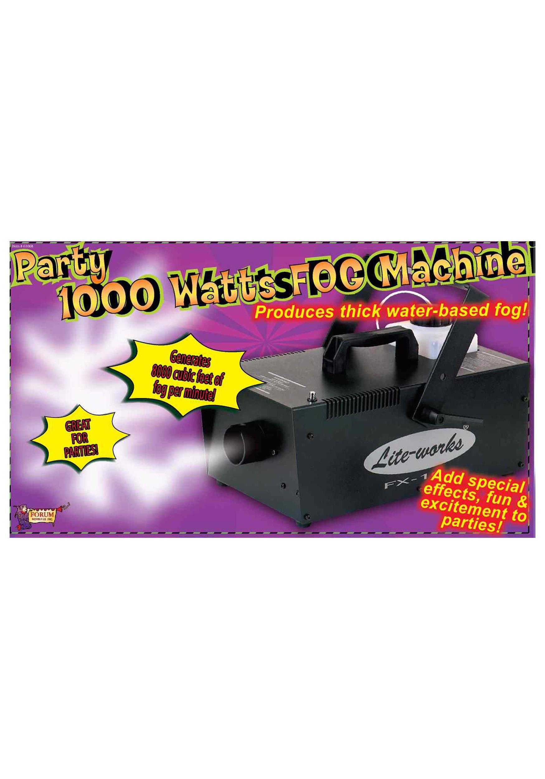 1000w fog machine