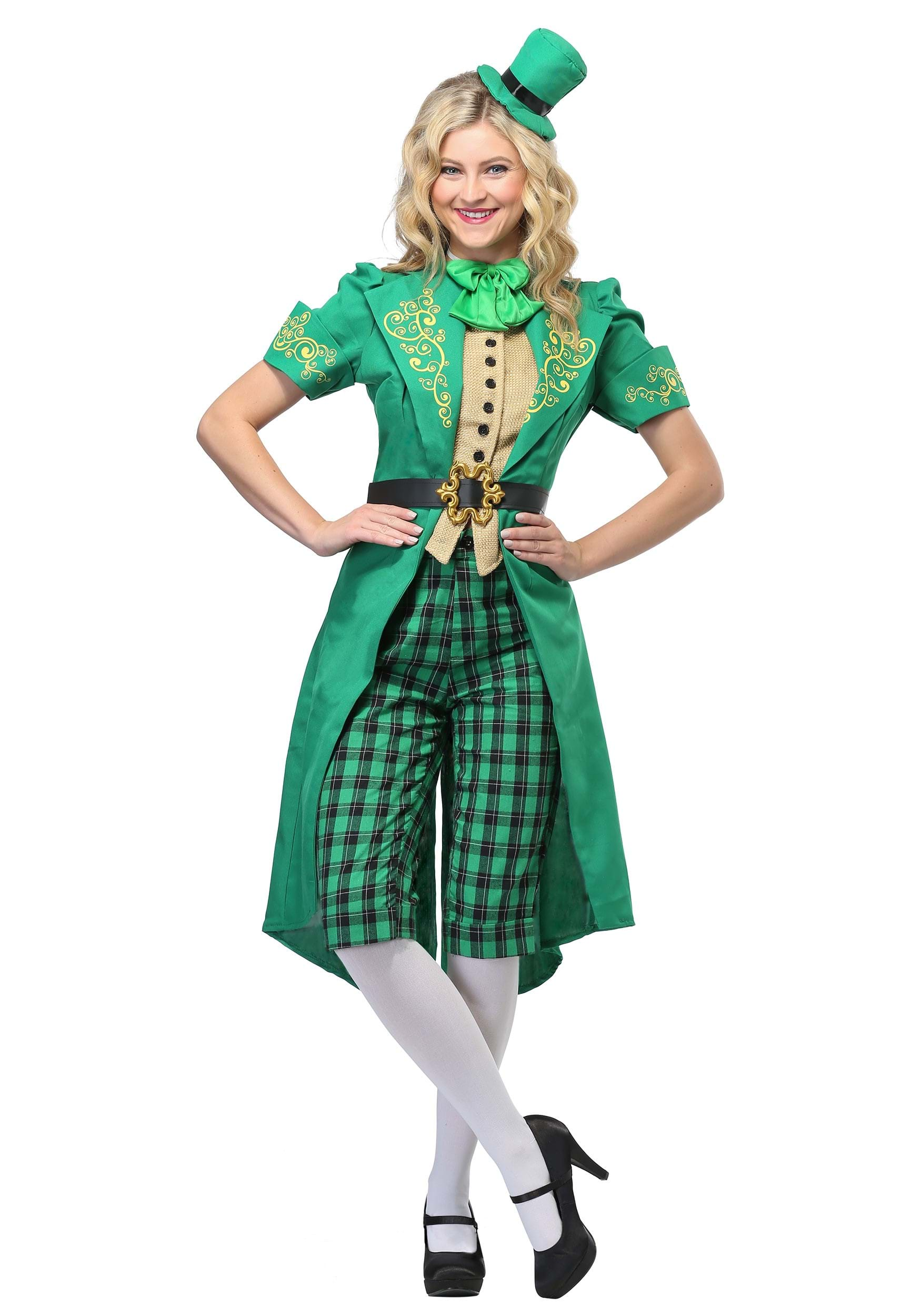 Womenu0027s Charming Leprechaun Costume  sc 1 st  Halloween Costumes UK & St. Patricku0027s Day Costumes - Adult Kids Saint Patricku0027s Costume